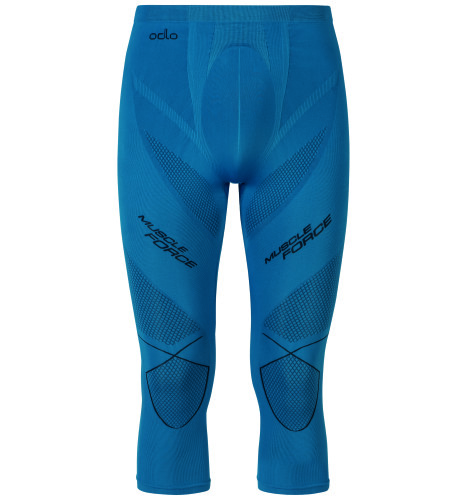 EVOLUTION WARM Muscle Force Pants blue.jpg