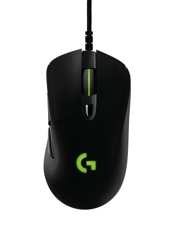 JPG 300 dpi (RGB)-G403 Prodigy Gaming Mouse - top Green Cord.jpg