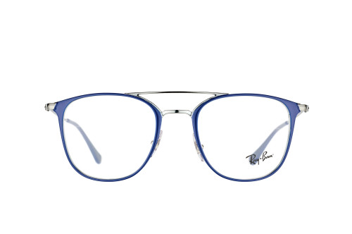 Misterspex.ch_Ray-Ban_gunmetal shiny blue__Women_RX_6377 2906_front.jpg
