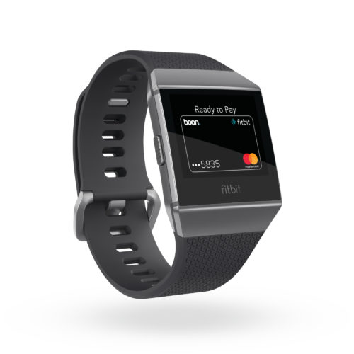 Fitbit Iconic™ und Mastercard