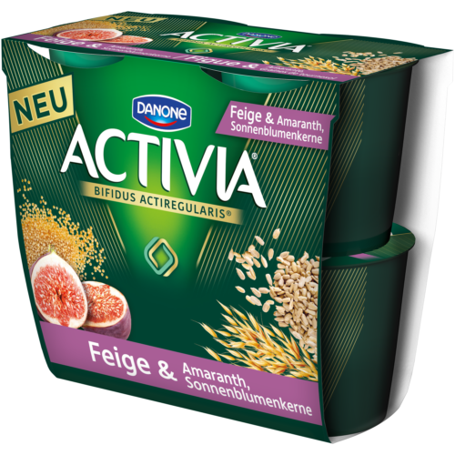 ACTIVIA figue, amarante et graines de tournesol