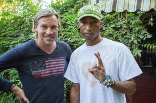 100 YearsLudovic du Plessis mit Pharrell Williams2-jpg