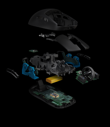 HighResolutionPNG-PRO Wireless Exploded View-png