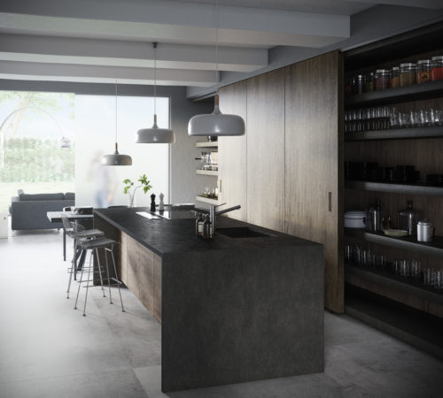 Dekton Kitchen - Milar-jpg