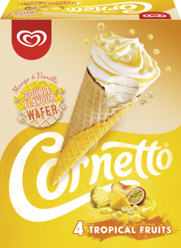 Packshot Cornetto Tropical Fruits