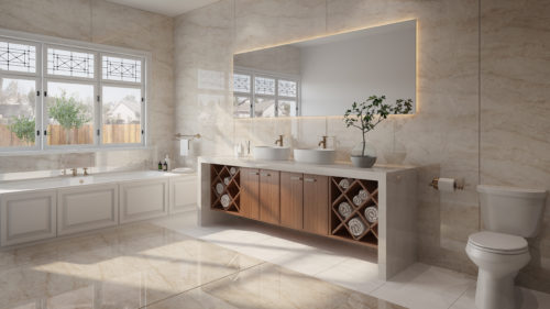 Dekton bathroom – Arga 2 Stonika Flooring color Zenith-jpg