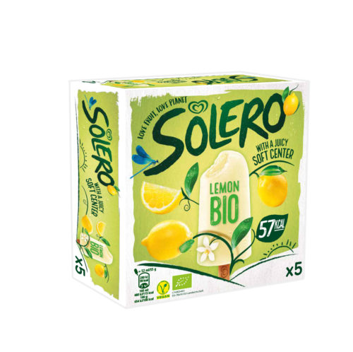 Packshot Solero Bio Lemon