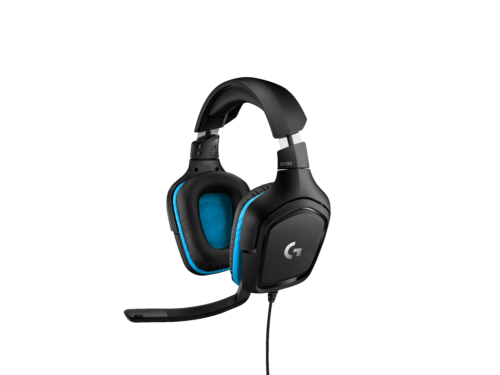 HighResolutionPNG-G432 Gaming Headset Symmetra 7-1 3qtr Front Leather Blue RGB-png