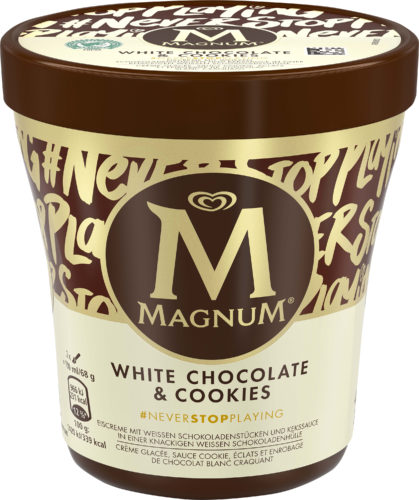Magnum White Chocolate  Cookies Becher-jpg