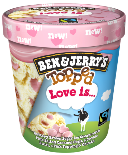 Ben  JerrysTopped Love isFreisteller-png