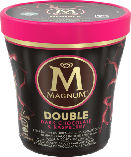Magnum Double Dark Chocolate  Rasperry Becher-jpg