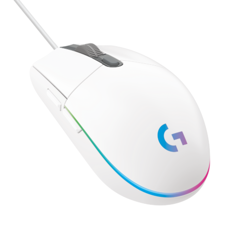 HighResolutionPNG-G203 LIGHTSYNC Gaming Mouse FOB – WHITE-png