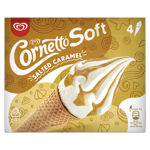 87113274893258711327489370CORNETTOCornetto Soft Salted Caramel 4Scr-PNGOOH-RetailFrontansichtLeading Picture26067-png